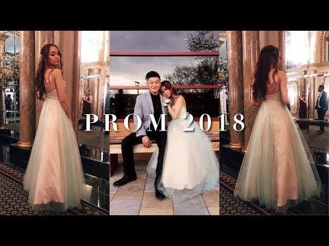 PROM 2018 GRWM + VLOG