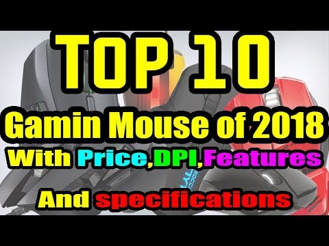 Top 10 Best Gaming Mouse For 2018 ||Urdu And Hindi ||