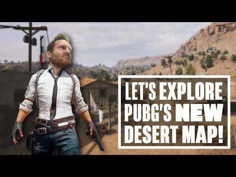 PUBG new desert map tour - IAN EXPLORES MIRAMAR!