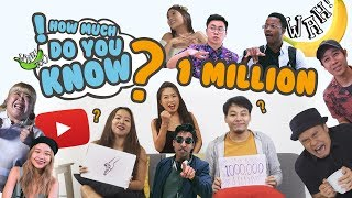 How Much Do You Know - 1 Million Special