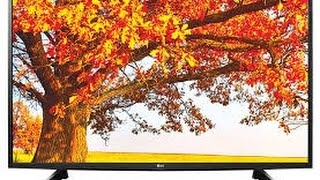 LG 43LH516A 43 Inch LED TV - Out of Box - Exteriors