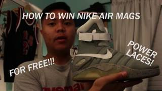 How to enter Nike Air Mag raffle with no donation!