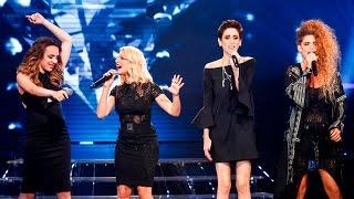 ישראל X Factor - עונה 2 חצי הגמר, שלב ה-LIVE: הביצוע של שירי והבנות