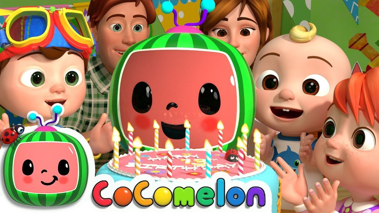 Cocomelons 13th Birthday   CoCoMelon Nursery Rhymes & Kids Songs