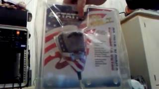 New Astatic 636L Stars n' Stripes CB radio microphone 4 pin  overview