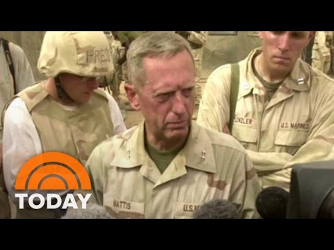 Donald Trump Reveals Pick Of James 'Mad Dog' Mattis For Secretary Of Defense | TODAY