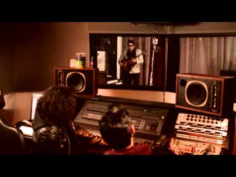 Arbor Live S03E02 Deleted Scene Eric Schweig as rockabilly Elvis in the recording studio