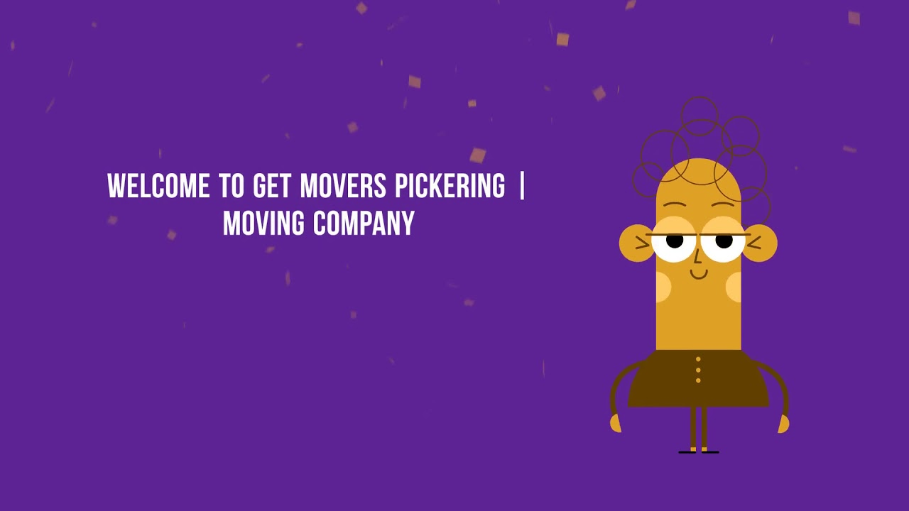 Get Movers Pickering ON - Moving Company