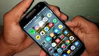 Moto G4 Plus rodando o Android Oreo- O que mudou? Video