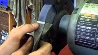Homemade Bench Grinder Tool Rest