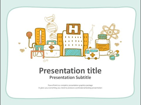 Medical animated powerpoint template youtube medical animated powerpoint template toneelgroepblik Image collections