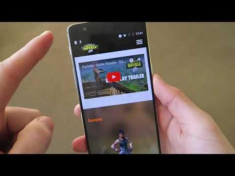 Fortnite En Android? (App Falsa)