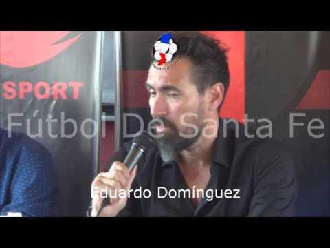 Presentación Eduardo Domínguez, D. T.  Colón