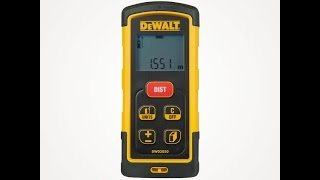 Dewalt Dw03050 Lazer Metre tanıtımı