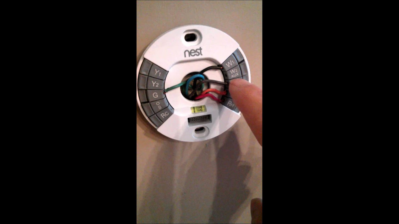 nest and humidifier wiring video 1 rh is power yes brain fart at critical time forgive me  [ 1280 x 720 Pixel ]