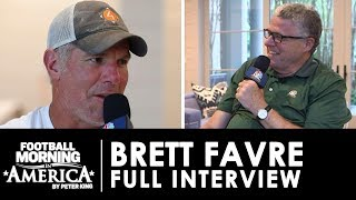 Brett Favre opens up about life after football with Peter King | NBC Sports