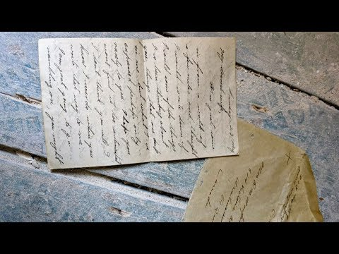 Long-lost love Second World War letter returned to couple's son