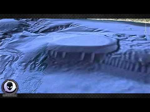 OFF-MALIBU ALIEN OCEAN BASE GIVING OFF RADIO SIGNALS - ALIEN BASE OR UFO