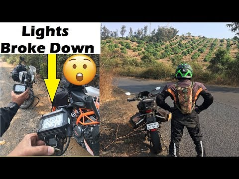 Dangerous Night Ride Without Lights | Goa to Mumbai via Old Highway | 14Hrs Adventure
