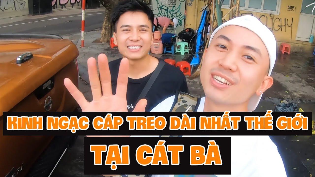 Ting Ting | Vlog #21 | KINH NGẠC CÁP TREO DÀI NHẤT THẾ GIỚI TẠI CÁT BÀ