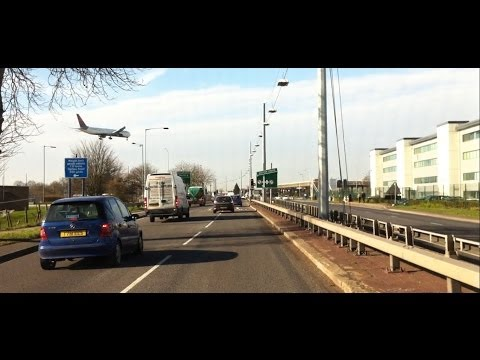 London streets (314.) - Fulham Road (SW6) - Hammersmith - Staines (TW18)