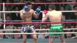 内田雅之(藤本ジム) VS 拳士浪(治政館)