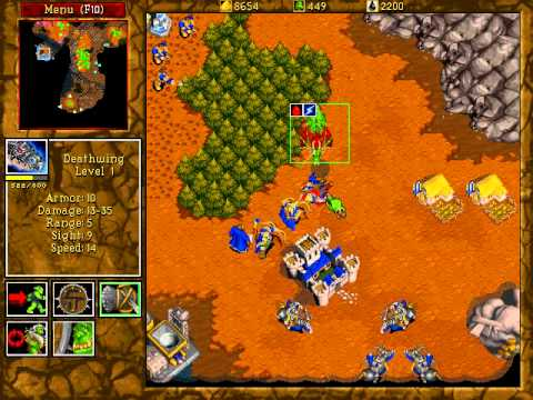 Warcraft II: Beyond the Dark Portal lossless speedrun orcs 12
