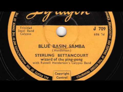 Blue Basin Samba [10 inch] - Sterling Bettancourt wizard of the ping-pong