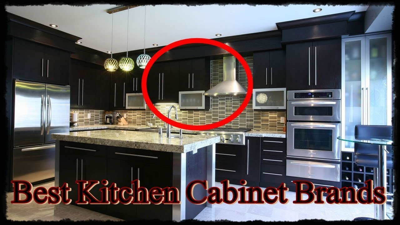 Kitchen Cabinet Brands Small Islands With Seating 21 Best Youtube