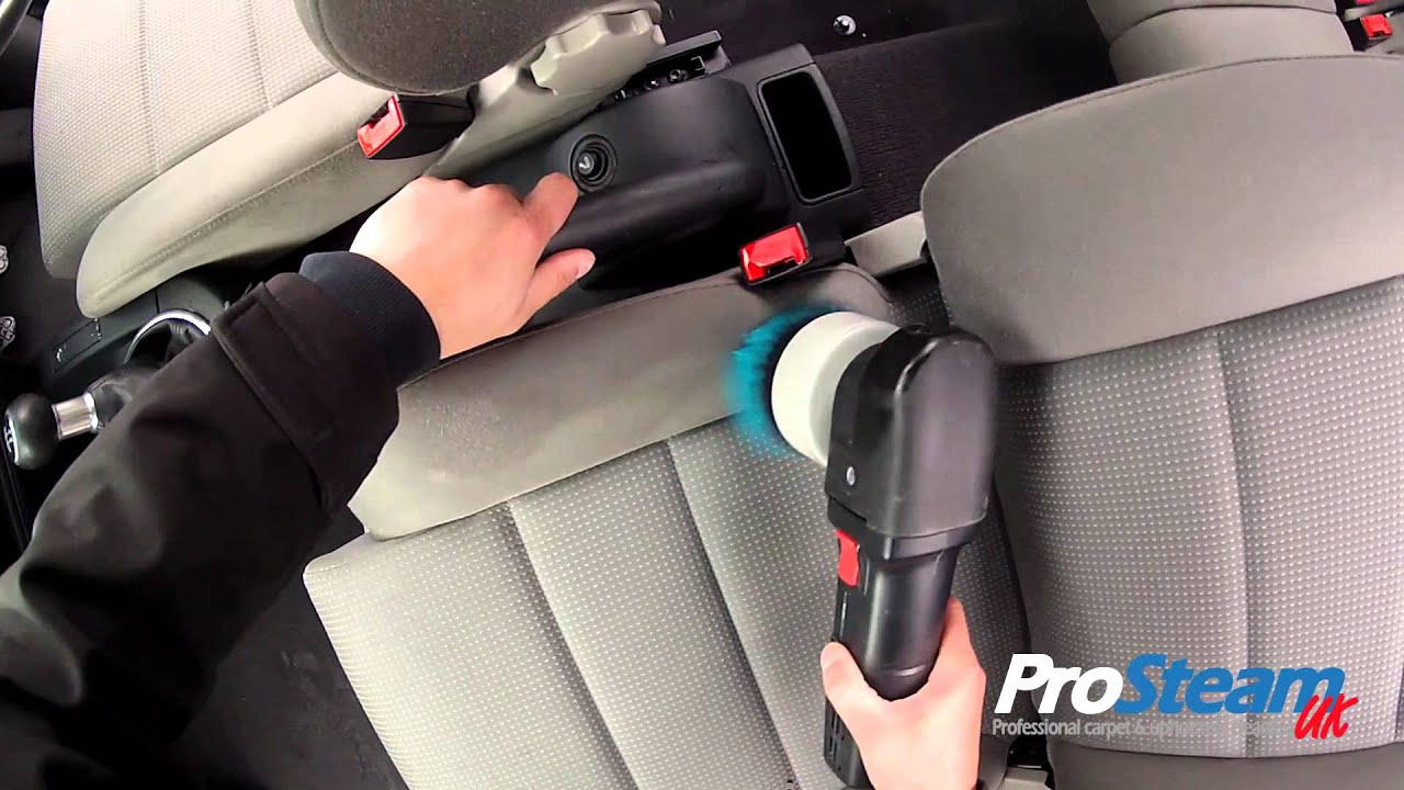 Automotive interior deep cleaning farnham youtube for How to clean interior car seats