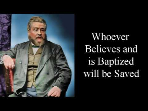 Baptism: Essential to Obedience - Charles Spurgeon Audio Sermons