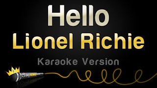 Lionel Richie - Hello (Karaoke Version)