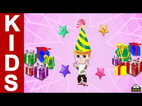 Happy Birthday Song   Kids Songs & Nursery Rhymes In English With Lyrics