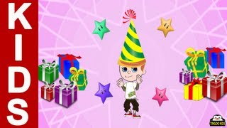 Happy Birthday Song | Kids Songs & Nursery Rhymes In English With Lyrics