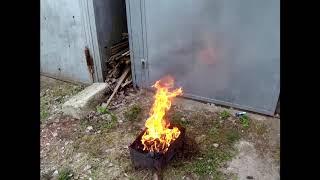 Грохот в Хундай Солярис или майские шашлыки в гараже)))