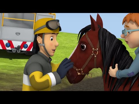 Fireman Sam US full episodes | Runaway Horse - Norman is stuck on a horse in sticky mud |Kids Movies