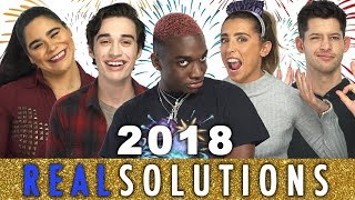 YOUTUBERS ADMIT THEIR ACTUAL NEW YEARS RESOLUTIONS...