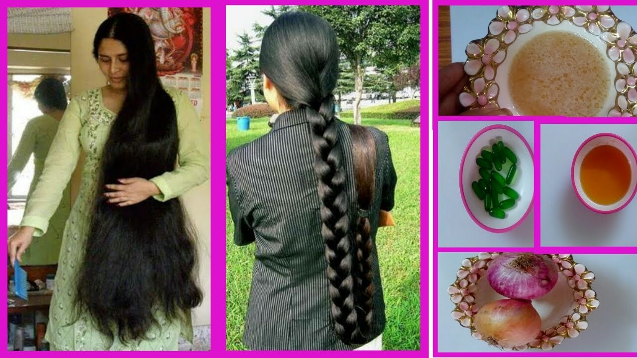 How to Get long and thick hair Very Fast Naturally at home (Re- Hair Growth Natural Remedy) - YouTube