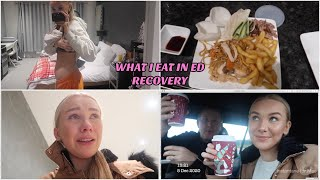 what i eat in a few days in ed recovery... challenging myself and panic attacks *keeping it real*