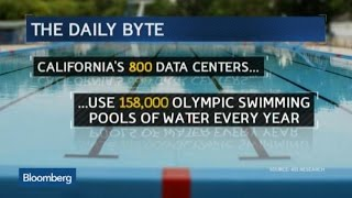How Much Water It Takes to Keep CA's Data Centers Cool