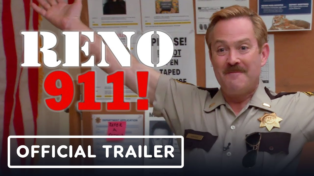 Reno 911: Season 7 Official Trailer - Quibi (2020)
