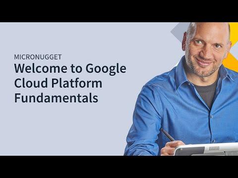 Welcome to Google Cloud Platform Fundamentals