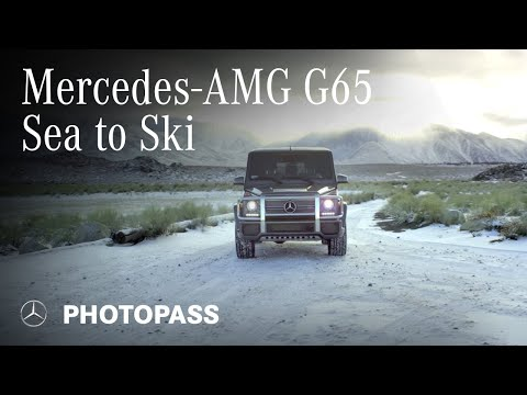 #MBPhotoPass - #SeaToSki In The Mercedes-AMG G65