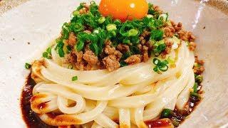 肉そぼろうどん|こっタソの自由気ままに【Kottaso Recipe】さんのレシピ書き起こし