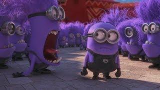 Despicable Me 2 - Evil Minions Attacks Scene