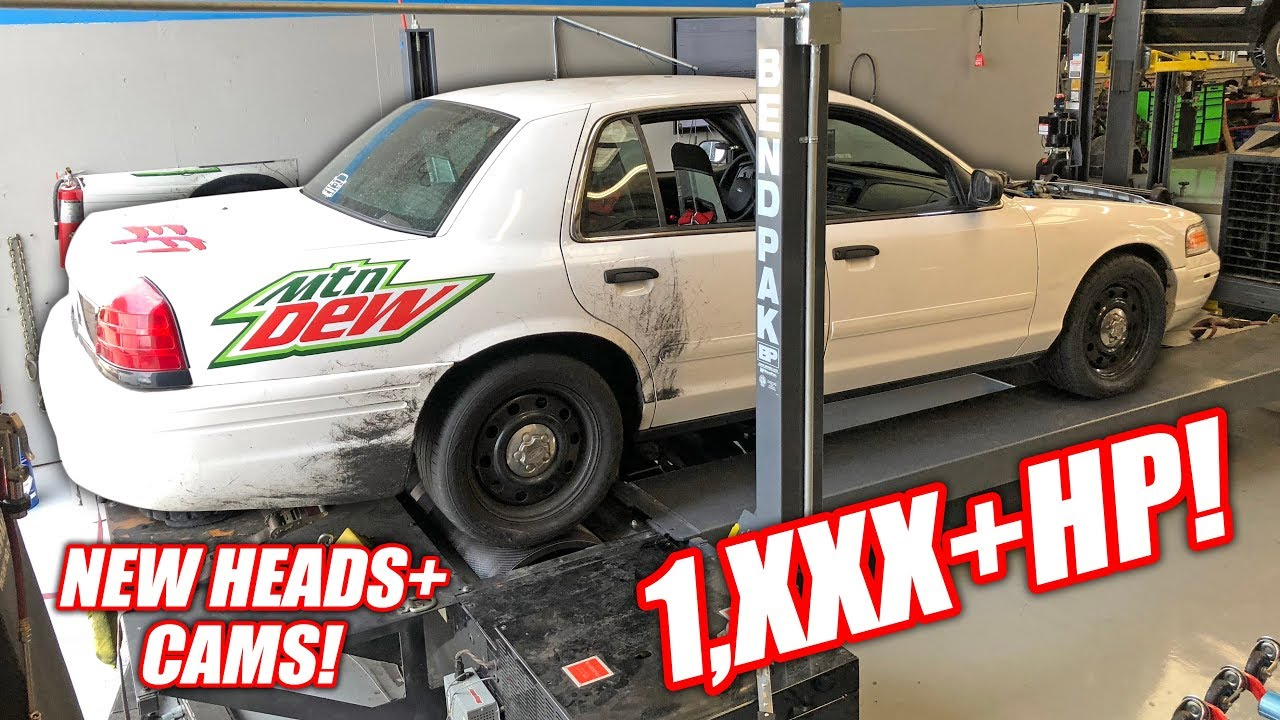 Our Retired Cop Car Made 1 000 Horsepower Boost And Nitrous