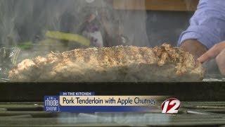 Pork Tenderloin with Apple Chutney