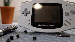 """Game Boy Advance """"Clicky"""" Button Mod!"""