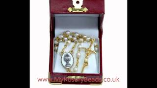Childrens Rosary Beads - Including communion rosaries