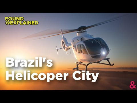How The Rich Fly In Brazil - Sao Paulo Brazil's Helicopter Dream